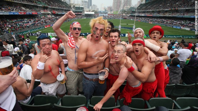 The only large public area where Sevens revelers can drink alcohol, the legendary South Stand -- off limits to minors -- brings together Hong Kong Stadium's most passionate spectators. But it fills up quickly, so you'll need to arrive early if you want in on the fun.