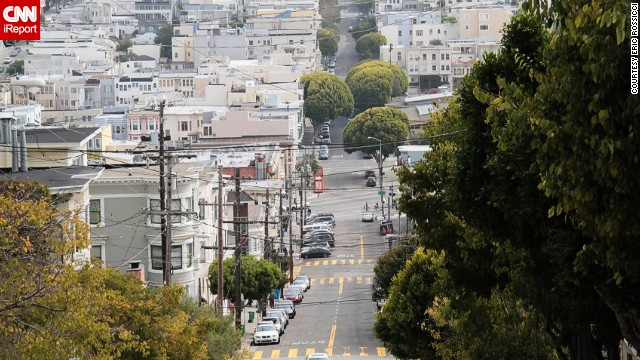 The steep streets and colorful houses of <a href='http://ireport.cnn.com/docs/DOC-854274'>San Francisco</a> are just some of the reasons why someone might leave their heart in the vibrant city.
