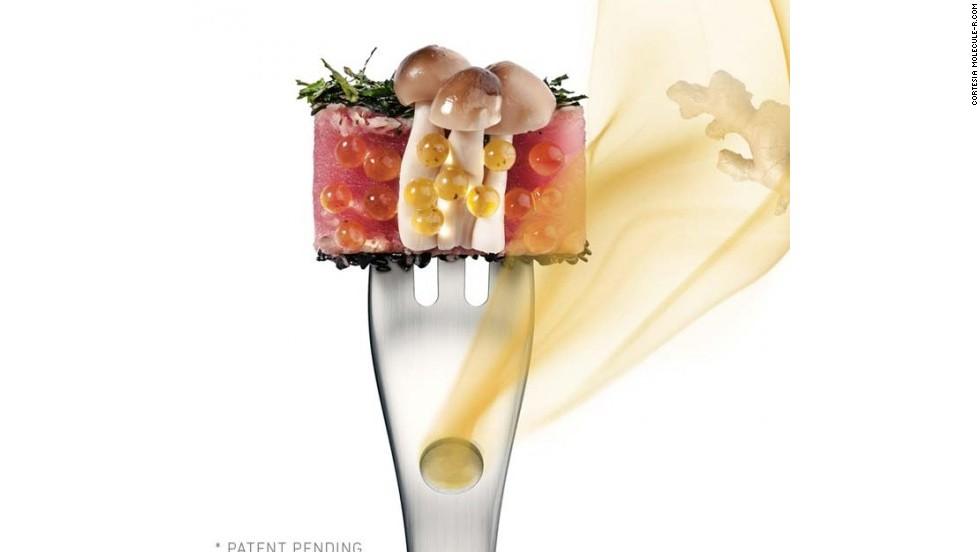Un tenedor con 21 sabores