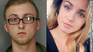 Teenagers Brandon Goode and Alexandria Hollinghurst apparently took their own lives, police say.