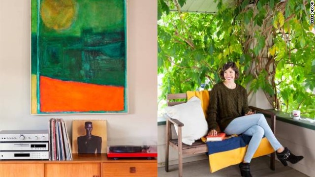 Brownstein's home features decor that is as endearingly twee as her on-screen persona.