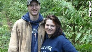 Delaney Webb and Alan Bejvl were staying at the home where they planned to get married in August.