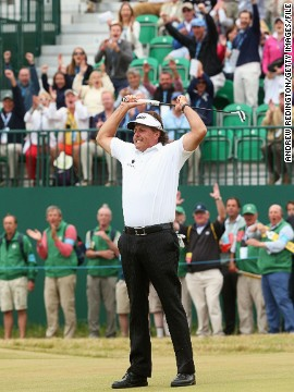 Mickelson also has recent major success to draw on, winning the British Open for the first time in his career last July. Clocking in at 43 when he won at Muirfield, he also demonstrated how wide the age spectrum of potential winners can be. There were 21 years between Mickelson and Rory McIlroy when the Northern Irishman won the 2012 U.S. Open.