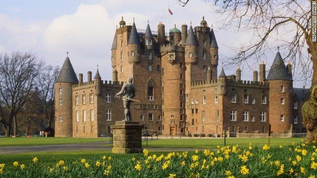 "Glamis Castle is the setting for Shakespeare's ""Macbeth,"" and it's the childhood home of Queen Elizabeth, the Queen Mother.<!-- --> </br>"
