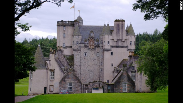 "The romantic-looking Castle Fraser was featured in ""The Queen,"" starring Helen Mirren. <!-- --> </br>"