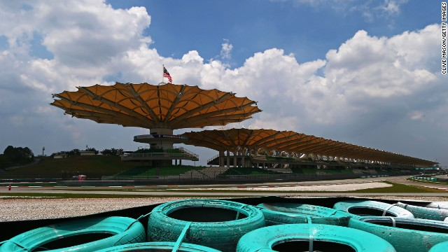 The Sepang International Circuit, the venue for Sunday's Malaysian Grand Prix, neighbors Kuala Lumpur's main airport.