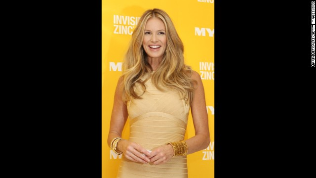 Model Elle Macpherson celebrates her 50th birthday on March 29, and she still looks exactly like the fresh-faced, leggy Australian beauty we came to know in the '80s. The former Sports Illustrated and Playboy model isn't the only one who has held up with age -- take a look at these stars who are sexy in their 50s: