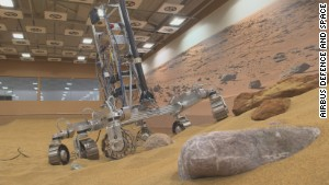 Scientists re-create Mars