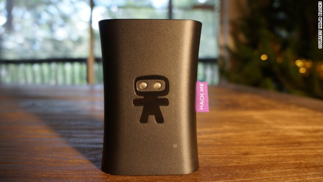 The <a href='http://www.cnn.com/2013/12/30/tech/innovation/14-kickstarter-projects-2014/' target='_blank'>Ninja Sphere </a>allows you to control your environment and keep track of the things in your life. It can connect devices and pet trackers and monitor them in your house. The Ninja also monitors temperature, lighting and energy usage so you can turn appliances off when not in use.