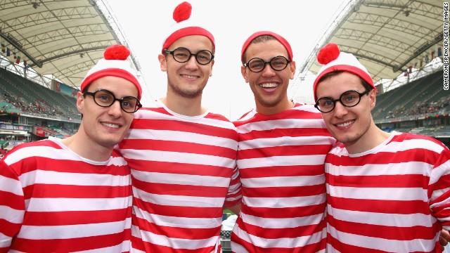 <strong>Four</strong> Where's Waldos (found)...