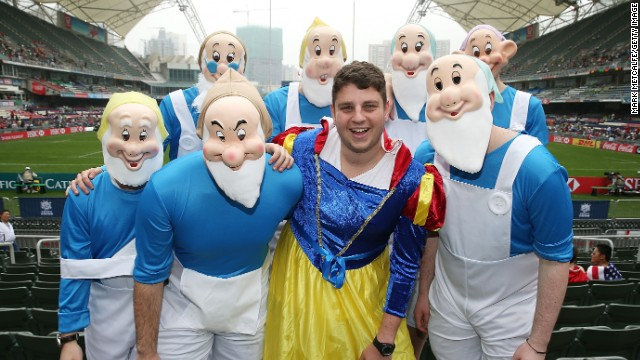 <strong>Seven </strong>dopey dwarfs...