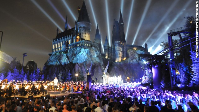 <a href='https://www.universalorlando.com/harrypotter/' target='_blank'>The Wizarding World of Harry Potter</a> at Universal Orlando Resort has been a crowd-pleaser since it opened in 2010. The Florida park is No. 9 on the list.