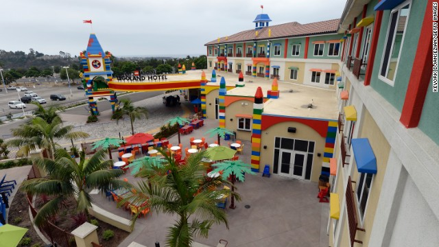 <a href='http://california.legoland.com' target='_blank'>Legoland</a> in Carlsbad, California, ranks eighth on the list. More than 60 rides, attractions and shows keep kids entertained.