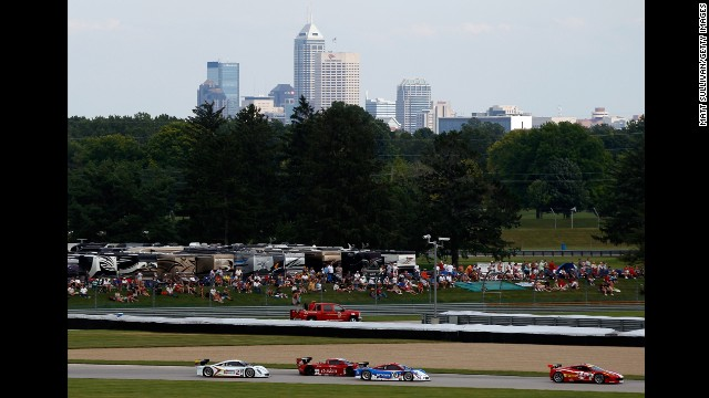 You've watched the professionals race around the track at the Indianapolis Motor Speedway, just like the drivers in the 2013 Grand-Am Rolex Sports Car Series Brickyard Grand Prix shown here. Why not get behind the wheel of an IndyCar for a high-speed ride around one of the world's most famous tracks yourself?