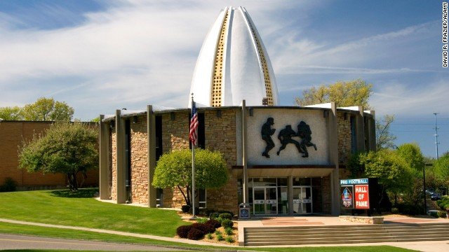 Love football and rock 'n' roll? No reason to choose here in Ohio. Stop by Canton's Pro Football Hall of Fame (shown here) to get your pro football buzz. Then head to Cleveland's Rock and Roll Hall of Fame and Museum to rock out.