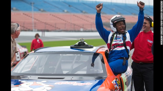 After a few days at Disney in Orlando, NASCAR fans can jump into a car at the Richard Petty Driving Experience and reach speeds of up to 120 mph.