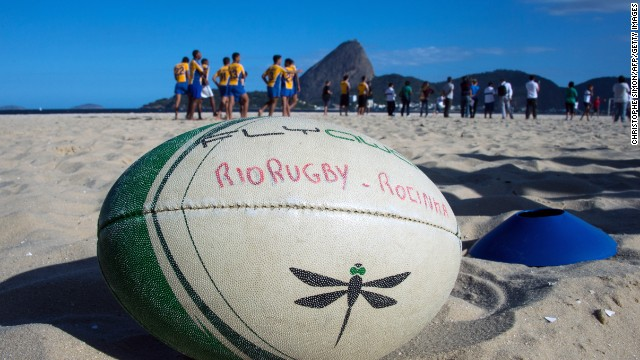 Olympic fever grips rugby sevens