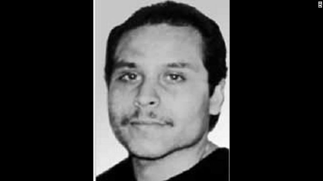 "From <a href='http://www.fbi.gov/wanted/topten' target='_blank'>the FBI's website</a>: ""Victor Manuel Gerena is being sought in connection with the armed robbery of approximately $7 million from a security company in Connecticut in 1983. He allegedly took two security employees hostage at gunpoint and then handcuffed, bound and injected them with an unknown substance in order to further disable them."""
