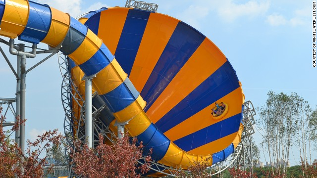 At Bali Water Park in Fushun, China, northeast of Beijing, the Abyss's 29-meter-high, near-vertical oscillations and final, enormous bowl make it one of the world's most exciting water park attractions.