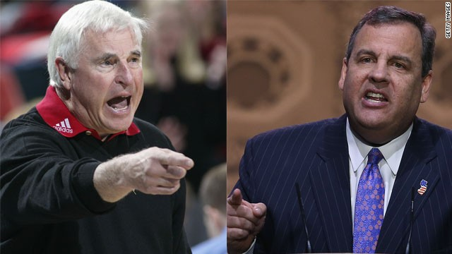 Who said it? Chris Christie or Bob Knight
