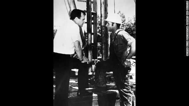 Before he entered politics in 1964, Bush made a fortune drilling oil in Texas. He created the Zapata Offshore Co., which introduced a new era in the drilling industry.
