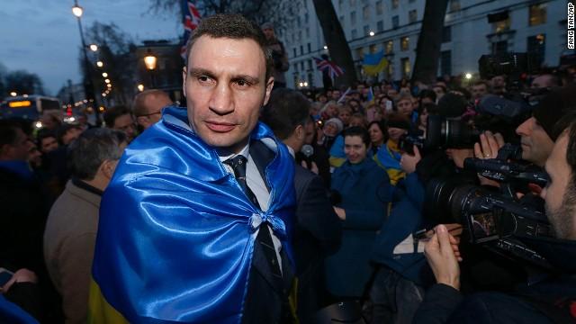 El exboxeador Vitali Klitschko tira la toalla en la lucha por la presidencia de Ucrania
