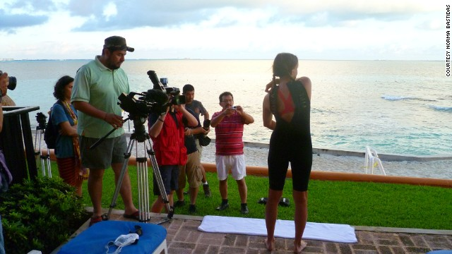 "Filming is under way for a documentary about Bastidas' journey. The child advocacy group iEmpathize hopes ""<a href='http://berelentless.iempathize.org/' target='_blank'>Be Relentless</a>"" will help fight human trafficking in the United States and Mexico."