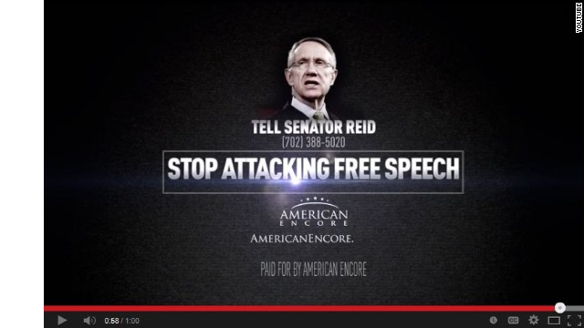 Harry Reid push called 'un-American' in new ad​
