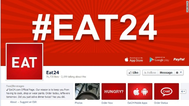 Eat24 has more than 70,000
