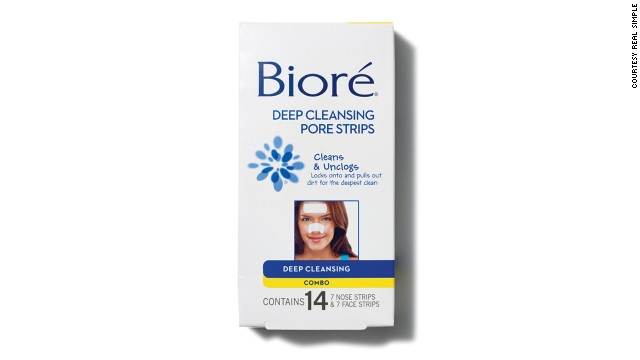Bioré strips were the first treatment to physically remove blackheads without squeezing the skin.