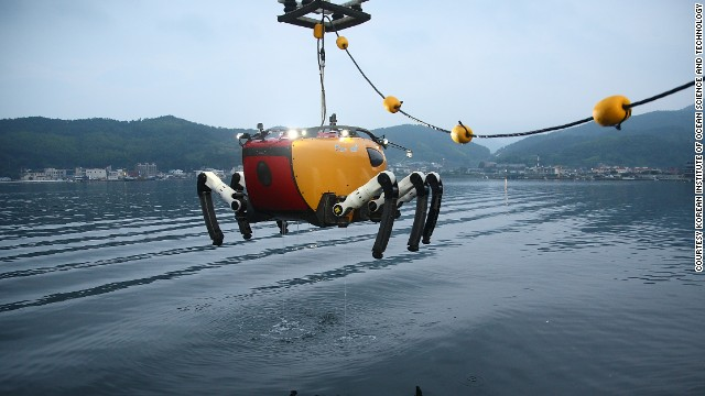 "Its maiden voyage will come in May 2014, in the Yellow Sea. ""The mission will be excavation of ancient artifacts by cooperating with marine archaeologists,"" said lead researcher Bong Huan Jun.<!-- --> </br>""CR200 will do precise seafloor mapping of the turbid area with acoustic equipment. We will also try a number of possibilities of CR200's role for underwater excavation."""