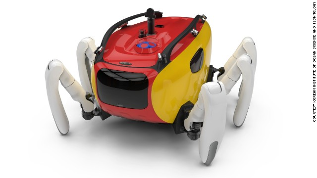 The Crabster CR200 is an underwater exploration vehicle developed by the Korean Institute of Ocean Science and Technology.