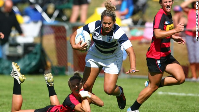 She made her first starts at club sevens level with Auckland before getting a rapid call-up to the national team.