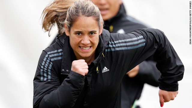 Kayla McAlister is one of the stars of the women's IRB Sevens as New Zealand bid to defend their world title this season.