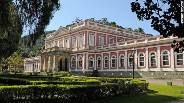 Imperial Museum of Brazil The former summer palace in the middle of Petrópolis was built in the mid-1800s. Displays include the Brazilian Imperial Crown and Imperial Carriage. The museum is an hour's drive (70 kilometers) from Rio de Janeiro's city center and is one of Brazil's most popular museums with an average of 300,000 visitors a year. Imperial Museum of Brazil, Rua da Imperatriz, 220, Petrópolis, Rio de Janeiro; +55 24 2245-5550; $3.50 per adult, $1.75 per student, teacher and senior over 60, free for children under 7 MORE: Plane colors: Graffiti duo let rip on Brazil football team's 737