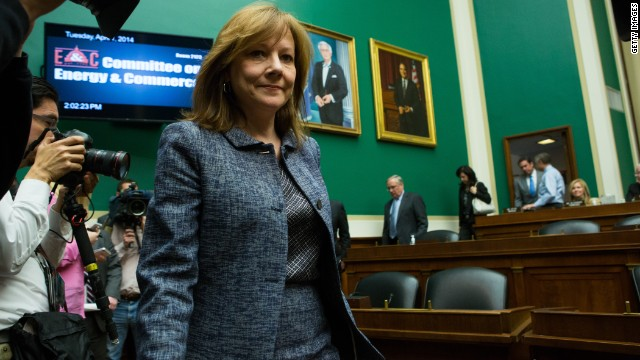 General Motors' CEO Mary Barra was questioned on Capitol Hill over the botched recall this week. The company have recalled<a href='http://money.cnn.com/2014/04/01/news/companies/barra-congress-testimony/index.html'> nearly 7 million vehicles so far this year</a>. Here is an overview of which cars have been affected so far.