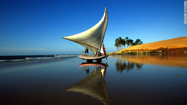 Fortaleza On the northeast coast of Brazil, the capital of Ceará state is well known for lobster and fresh seafood. Fortaleza's urban beaches are great for windsurfing and sailing. More info: www.visitbrasil.com MORE: Brazil's Northeast Coast: The next tropical paradise