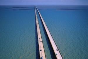 Puente continuo más largo sobre agua