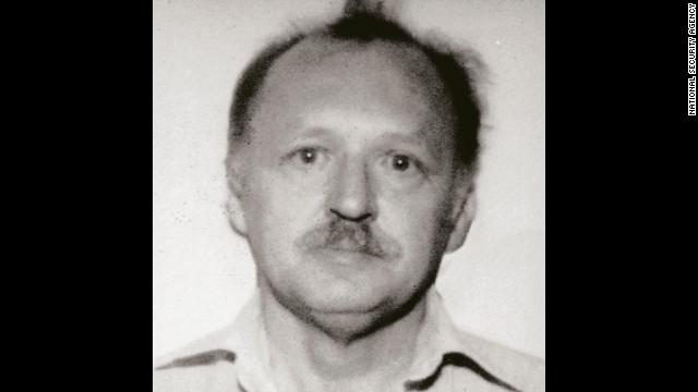 Ronald Pelton joined the super-secret National Security Agency, the U.S. government's electronic intelligence arm, after serving in the Air Force's communications intelligence division. He resigned in 1979, but after running into financial trouble, he approached the Soviet Embassy in Vienna. He then began passing Moscow classified information, including details of a program that tapped undersea Soviet communications cables. He was exposed when his handler defected to the United States in 1985, and he's still serving a life sentence at age 72.