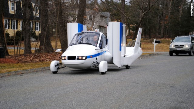 Transition runs on premium unleaded automotive gasoline and can fly with a cruise speed of 100 miles per hour. So far, the company says it has received more than 100 orders for the vehicle.