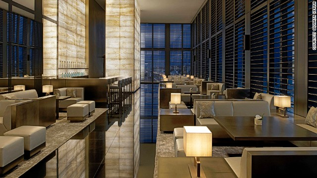 "Acclaimed photographer Enrico Labriola calls Armani Bamboo Bar the fashion industry's coolest get-together spot of the moment. ""This is where you want to be and be seen by others,"" he says."