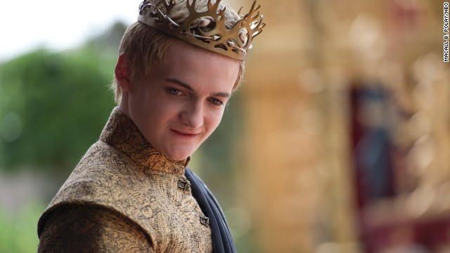 "<strong>Joffrey Baratheon (Jack Gleeson):</strong> In the pantheon of most-hated TV characters, ""Game of Thrones'"" boy king Joffrey has to be one of the top choices. He's petulant, cruel and too immature to rule, but don't tell him that or he'll have your tongue. The most delicious part for the viewers at home is that he's not the rightful heir to the Iron Throne that he thinks he is, although that didn't stop his reign of terror. In our personal opinions, we'd say the Purple Wedding was one of Joff's best scenes."