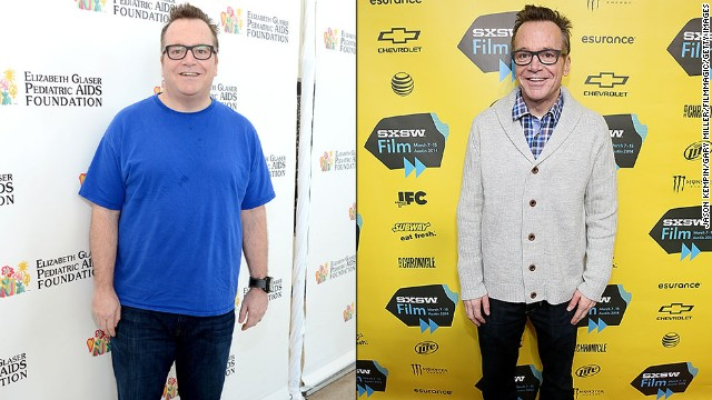 "Tom Arnold has lost about 90 pounds since his first child was born last year, and he was looking quite thin at this year's South by Southwest festival. He'd actually lost the same amount of weight before but regained it when he didn't maintain healthier habits. After his son was born, he knew he needed to make a lasting change. ""I saw that little baby, and I thought, 'I gotta stay alive for as long as possible,' "" Arnold said in January. ""That's a lifelong commitment."""