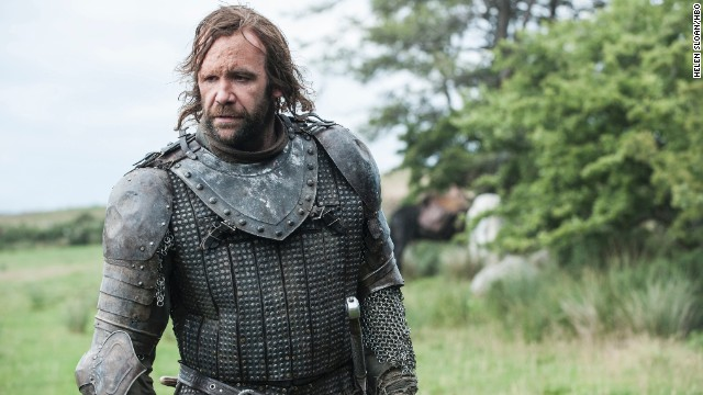 "<strong>Sandor ""The Hound"" Clegane (Rory McCann): </strong>A killer to the bone but not without a heart, Sandor, or ""The Hound"" as he's known, was once a bodyguard for King Joffrey but deserted his post. He then tried to take hostage Arya Stark in hopes he could exchange her for ransom, but as season four starts, their relationship has shifted from kidnapper/hostage to mentor/mentee."
