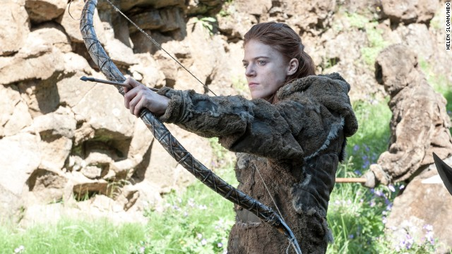 <strong>Ygritte (Rose Leslie)</strong>: Ygritte, one of the Free Folk who live beyond the Wall and are known derogatorily as wildlings by those in the Seven Kingdoms, is proud of her people and deathly with a bow and arrow. She spent most of season 3 as the love interest of Jon Snow, but after he deserted her for the Night's Watch she's ready to start season four making everyone feel as much pain as she does.