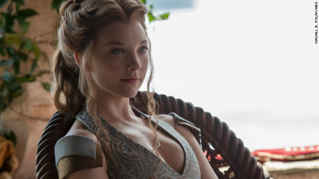 <strong>Margaery Tyrell (Natalie Dormer):</strong> Margaery Tyrell, the lady now betrothed to King Joffrey, at first seems as sweet as she is beautiful. But don't be fooled: As she prepares to reign alongside Joffrey in season four, trust that any kindness you see is stealthily calculated.