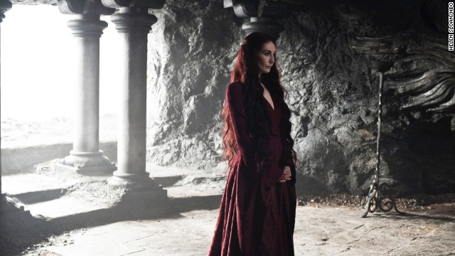 <strong>Melisandre (Carice van Houten):</strong> Known as the Red Priestess, Melisandre's magic is lethal, but Stannis Baratheon doesn't seem to mind when her power helps him move closer to the Iron Throne.