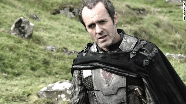 "<strong>Stannis Baratheon (Stephen Dillane): </strong>As a brother to the late King Robert Baratheon -- who held the throne before his son-in-name-only Joffrey took over -- Stannis Baratheon knows he has a rightful claim the crown. He's gone into battle trying to seal his position, and now regularly turns to the magic of creepy ""Red Priestess"" Melisandre (Carice van Houten) for help."