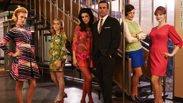 "Historical dramas are heating up TV all year long, especially with the return of popular series ""Mad Men."" The corporate advertising world of 1960s New York has never looked so sleek, sexy or ruthless. Season seven will be the last chapter for Don Draper (Jon Hamm), ending in 2015."