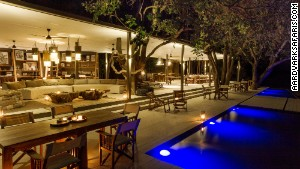 Chinzombo\'s six villas all have private dining areas, lounges, libraries and tree-shaded pools.